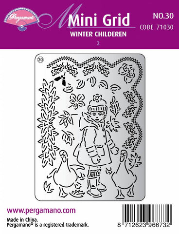 Mini Grid 30 Winter Children 2 (71030)