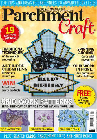 Parchment Craft Magazine May 2017