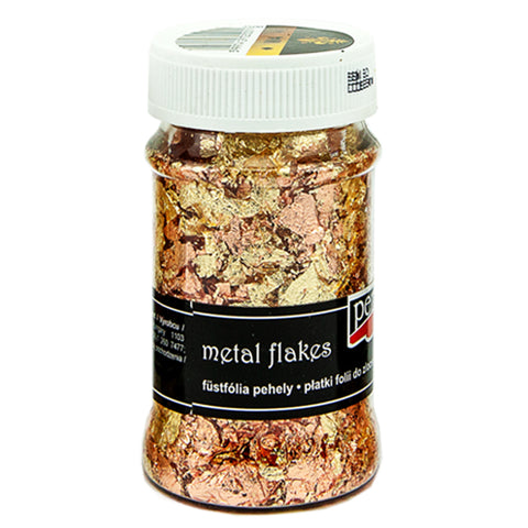 Metal Flakes - Variegated Copper & Gold (M4)