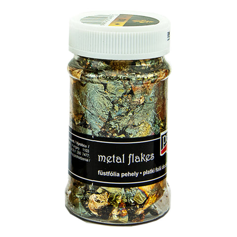 Metal Flakes - Variegated Gold (M2)