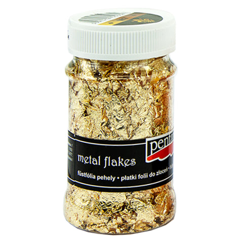 Metal Flakes - Variegated Gold (M7)
