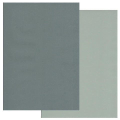 Pine Needles & Sage Green x10 Groovi Two Tone Parchment Paper A4