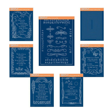 Poetry Groovi Plate Bundle