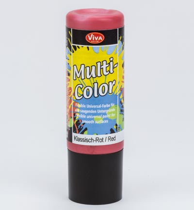 Viva Decor Acrylic Paint - Red