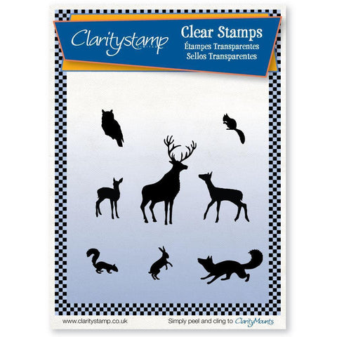 Woodland Animals Unmounted Clear Stamp Set