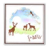 Woodland Animals <br/>Unmounted Clear Stamp Set