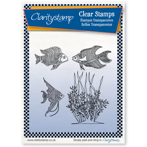 Tropical Fish <br/>Unmounted Clear Stamp Set
