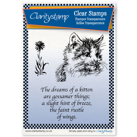 Kitten - Unmounted Clear Stamp Set