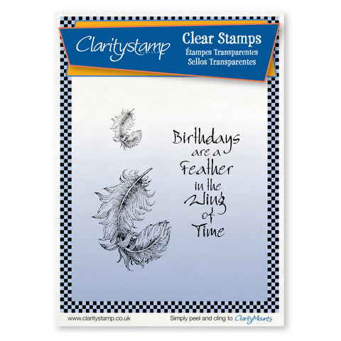 Matrix Feathers <br/>Unmounted Clear Stamp Set