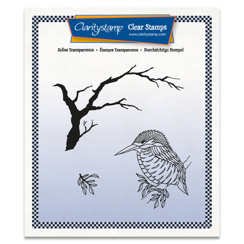 Kingfisher & Branch + MASK Unmounted Clear Stamp Set
