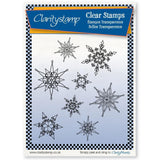 Snowflakes Unmounted Clear Stamp Set