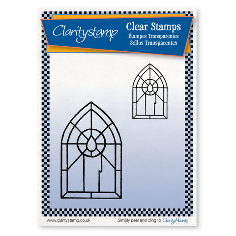 Candle Windows <br/>Unmounted Clear Stamp Set