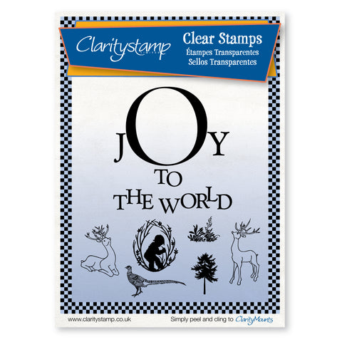 Joy to the World <br/>Unmounted Clear Stamp Set