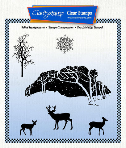 Winter Wonderland Unmounted Clear Stamp Set