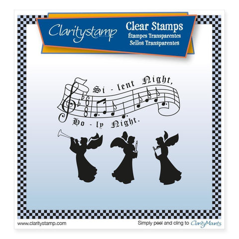 Silent Night Unmounted Clear Stamp Set