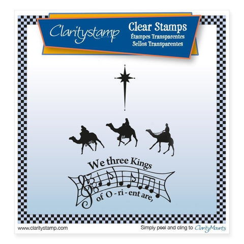 We Three Kings <br/>Unmounted Clear Stamp Set