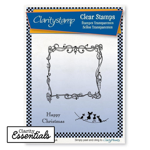 Twas the Night Extras - Fine Line <br/>Unmounted Clear Stamp Set