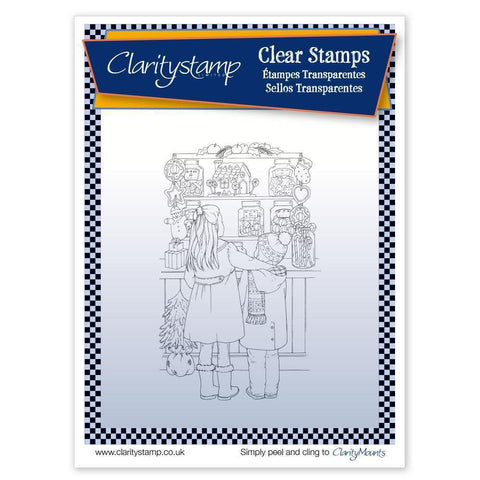 Jayne's Sweet Shop<br/>Unmounted Clear Stamp