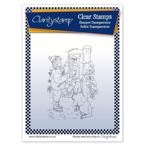 Jayne's Letter to Santa <br/>Unmounted Clear Stamp