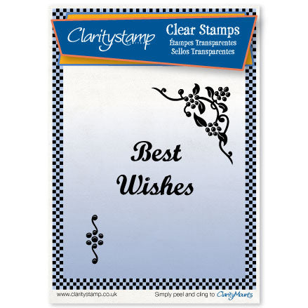 Berry Corner <br/>Unmounted Clear Stamp Set