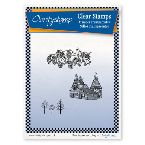 Oast House <br/>Unmounted Clear Stamp Set