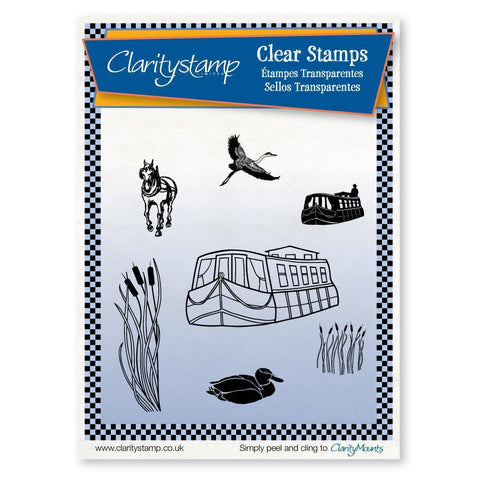 Canal <br/>Unmounted Clear Stamp Set