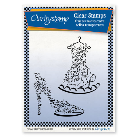 Clarity Style <br/>Unmounted Clear Stamp Set
