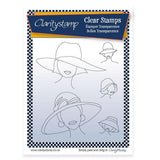 Hats 1 + MASK <br/>Unmounted Clear Stamp Set