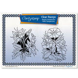 Gentian & Columbine + MASK <br/>Unmounted Clear Stamp Set