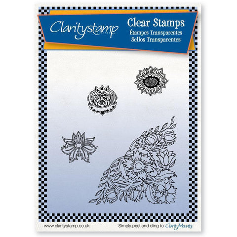 Wallflowers + MASK <br/>Unmounted Clear Stamp Set