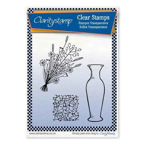 Versatile Vase <br/>Unmounted Clear Stamp Set