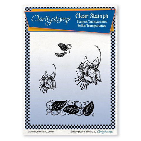 Fuchsias Unmounted Clear Stamp Set