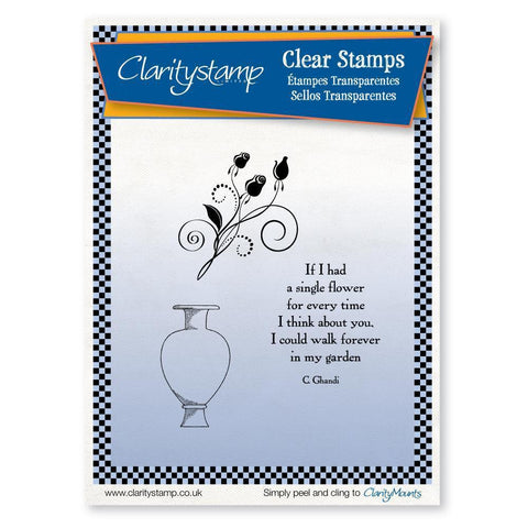 Clever Urn <br/>Unmounted Clear Stamp Set