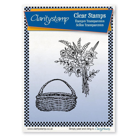 Spring Bouquet Unmounted Clear Stamp Set