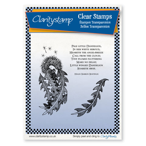 Dandelion Fairy <br/>Unmounted Clear Stamp Set