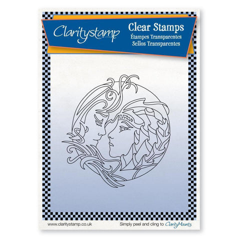Earth Element + MASK <br/>Unmounted Clear Stamp