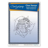 Water Element + MASK <br/>Unmounted Clear Stamp
