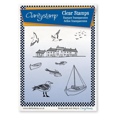 Harbour <br/>Unmounted Clear Stamp Set