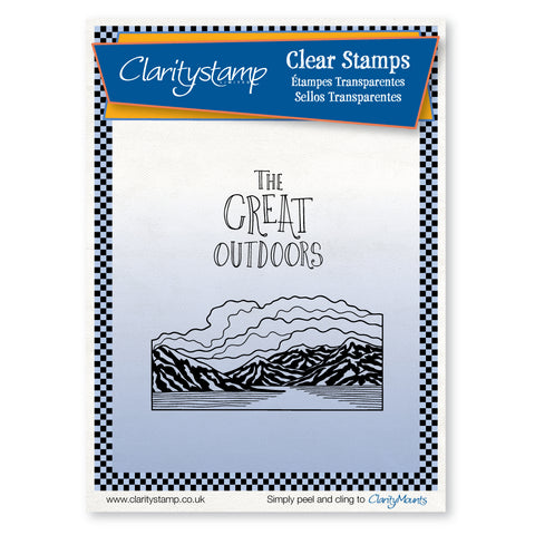 The Great Outdoors <br/>Unmounted Clear Stamp Set