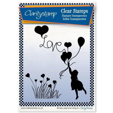 Love Is in the Air <br/>Unmounted Clear Stamp Set