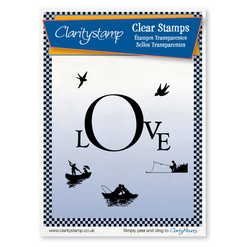Love Frame <br/>Unmounted Clear Stamp Set