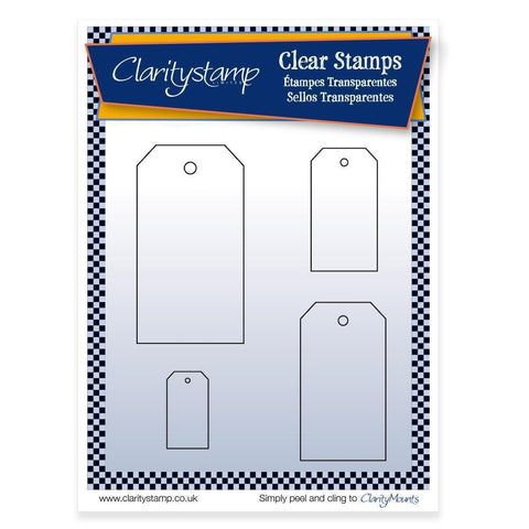 Tags + MASK <br/>Unmounted Clear Stamp Set