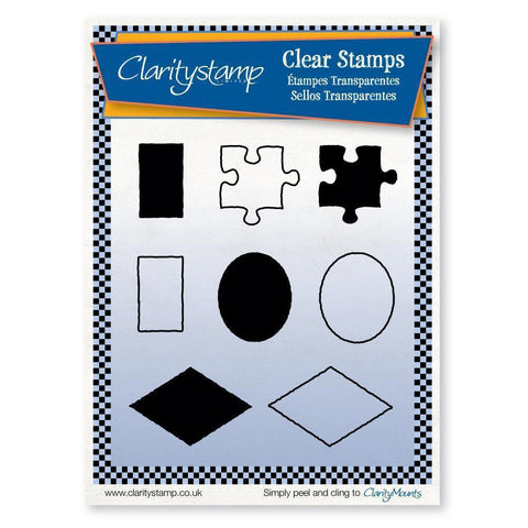 Sam's Shapes 1 (JORD) <br/>Unmounted Clear Stamp Set