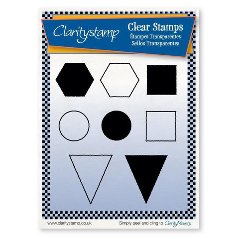 Sam's Shapes 2 (CHTS) Unmounted Clear Stamp Set