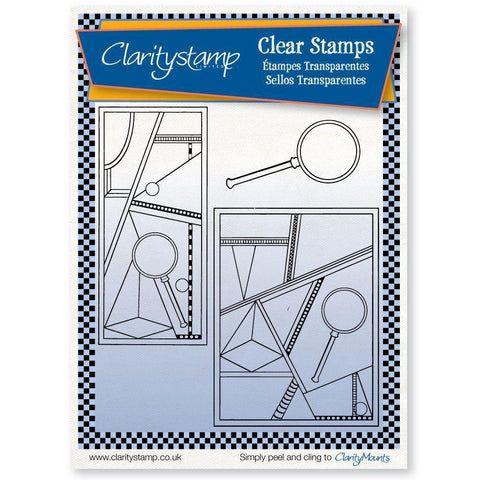 Abstract Art Unmounted Clear Stamp Set