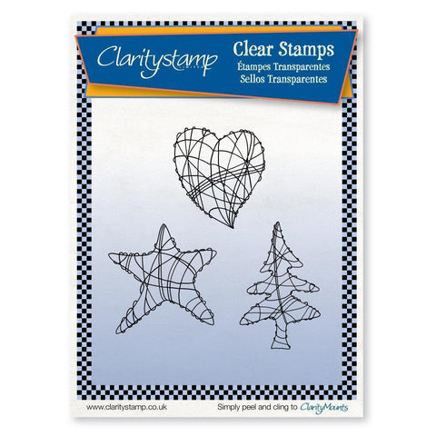 Wire Art <br/>Unmounted Clear Stamp Set