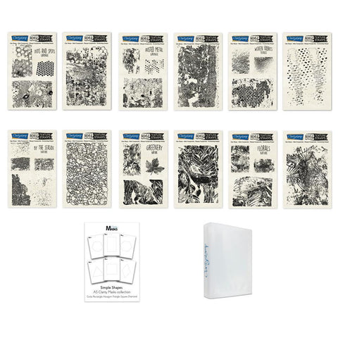 Mixed Impressions Bundle <br/>Unmounted Clear Stamp Sets
