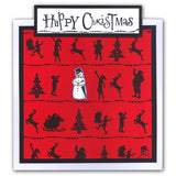 Wee Folk 7 Christmas <br/>Unmounted Clear Stamp Set