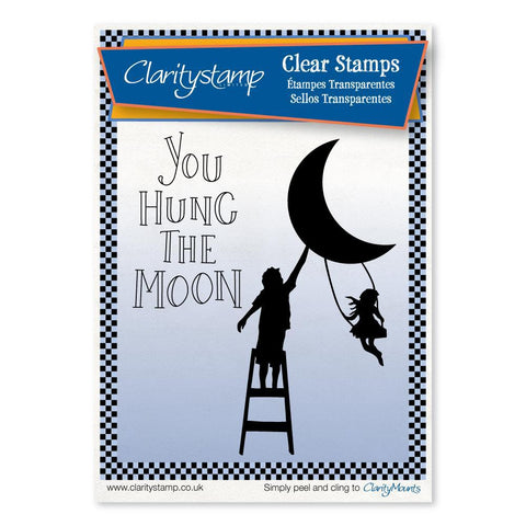 You Hung the Moon <br/>Unmounted Clear Stamp Set