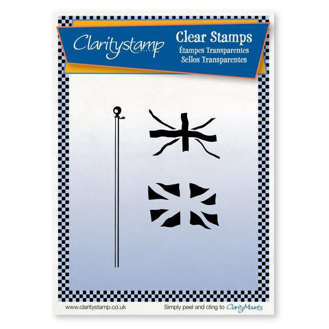 Union Jack <br/>Unmounted Clear Stamp Set